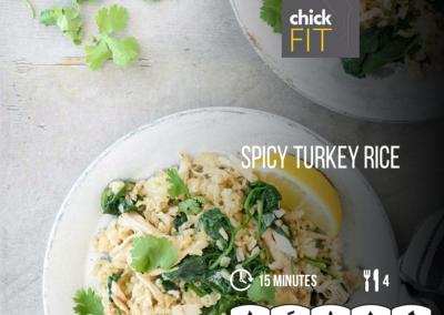 Spicy Turkey Rice