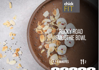 Rocky Road Smoothie Bowl