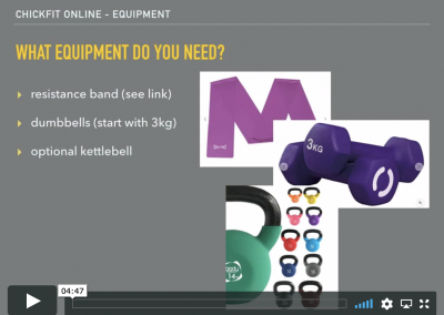 What equipment do I need?