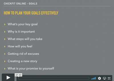 How to plan your goals effectively