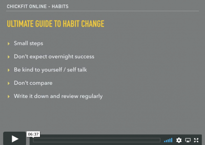 The Ultimate Guide to Habit Change