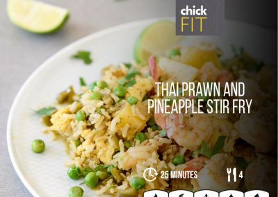 Thai Prawn & Pineapple Stir Fry