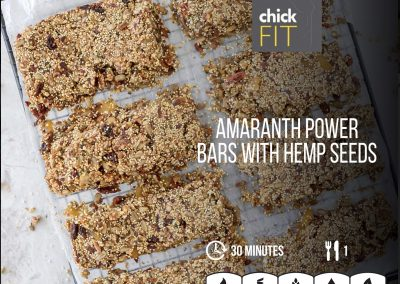 Amaranth Power Bars
