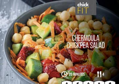 Chermoula Chickpea Salad