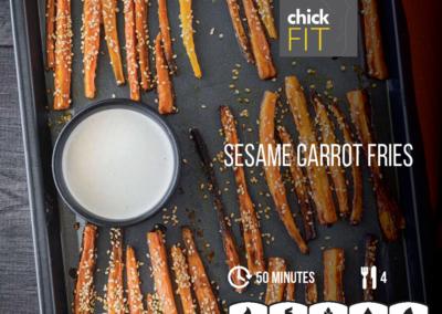 Sesame Carrot Fries