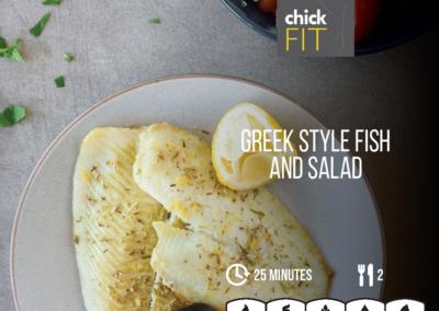 Greek Style Fish Salad