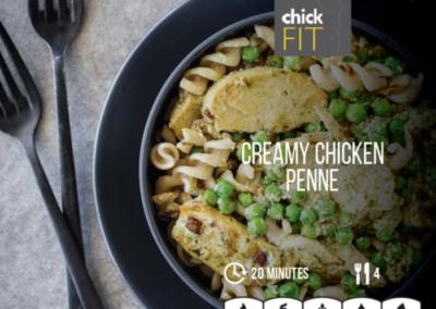 Creamy Chicken Penne