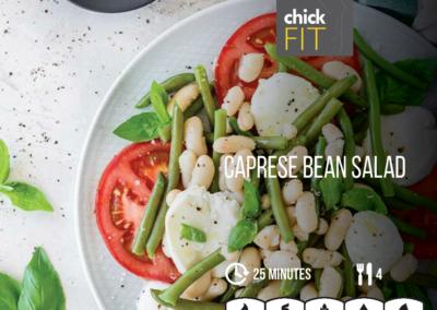 Caprese Bean Salad