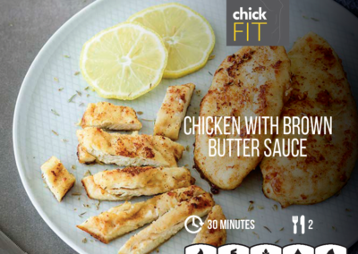 Chicken with Brown Butter Sauce