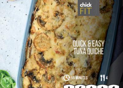 Quick Easy Tuna Quiche