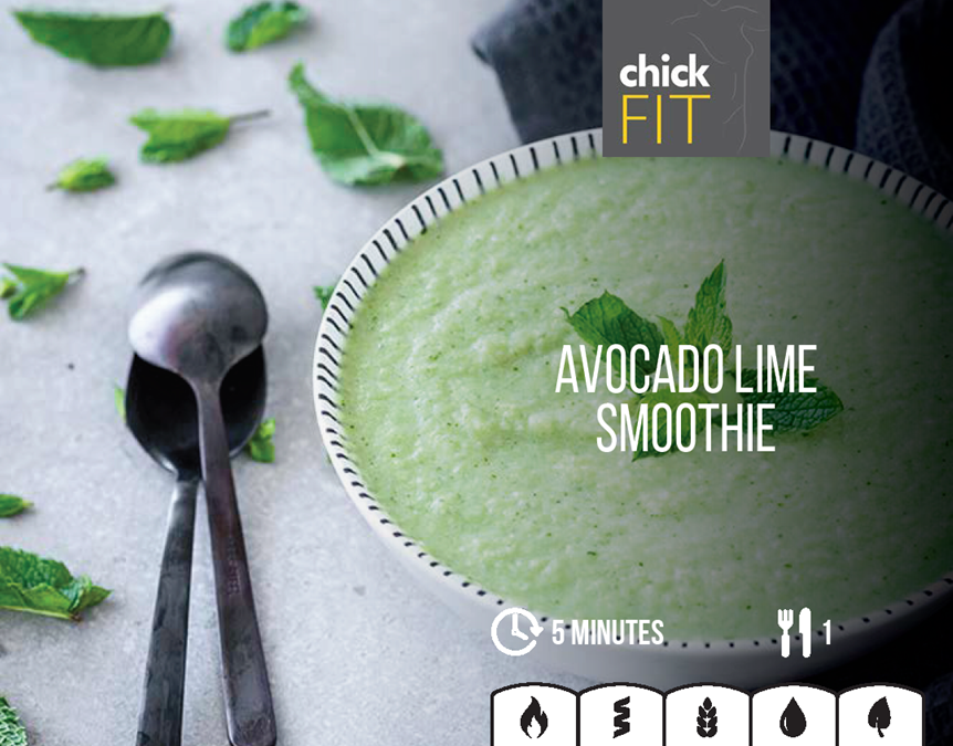 Avocado Lime Smoothie