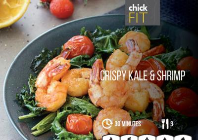 Crispy Kale Prawns