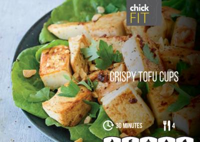 Crispy Tofu Cups