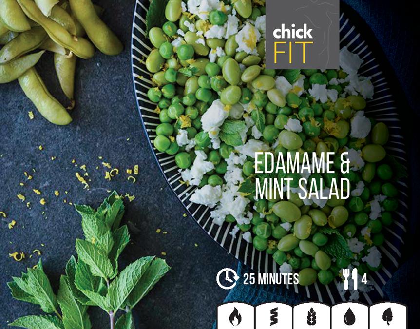 Edame Mint Salad
