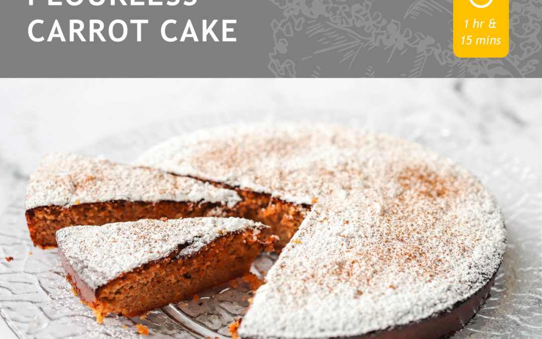 FLOURLESS CARROT CAKE