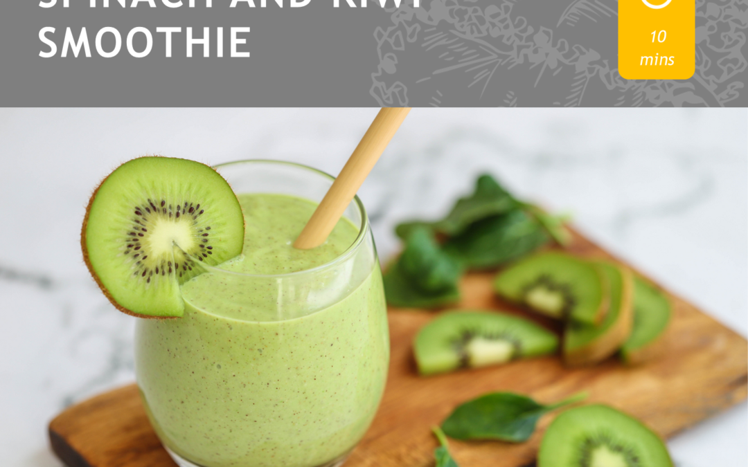 SPINACH AND KIWI SMOOTHIE