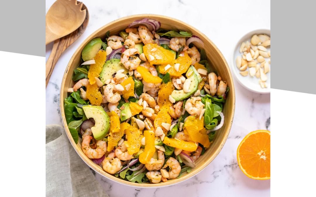 Citrus Prawn Salad